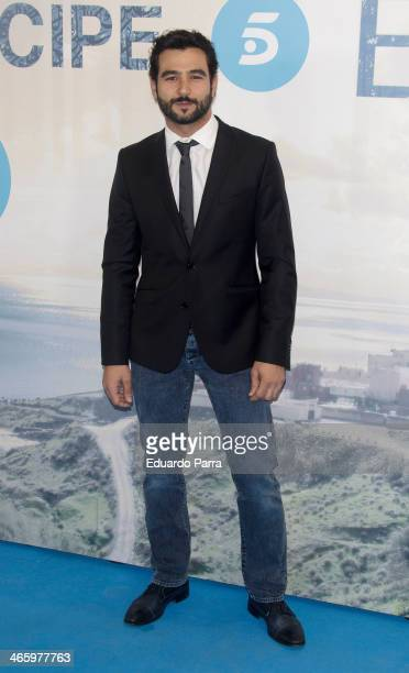 Antonio Velazquez attends 'El principe' premiere at Callao cinema on January 30 2014 in Madrid Spain