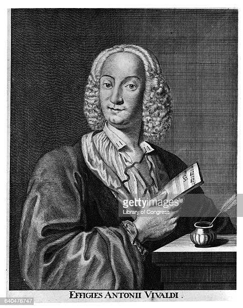 Antonio Vivaldi by Francois Morellon La Cave