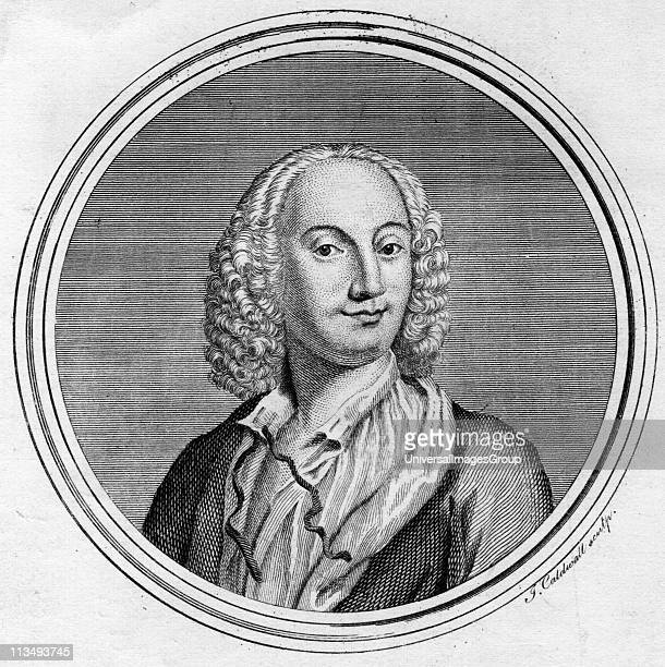 Antonio Vivaldi Italian composer and violinist born in Verona