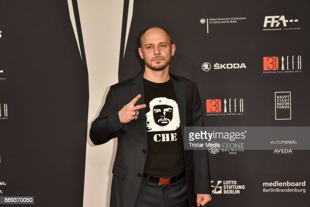 Antonio Wannek attends the European Film Awards 2017 on December 9 2017 in Berlin Germany
