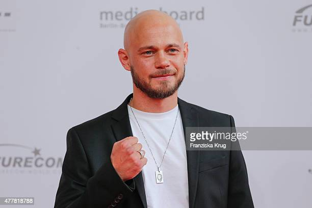 Antonio Wannek attends the German Film Award 2015 Lola at Messe Berlin on June 19 2015 in Berlin Germany