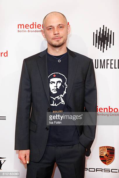 Antonio Wannek attends the Medienboard BerlinBrandenburg Reception on February 13 2016 in Berlin Germany