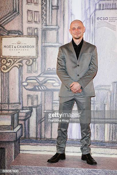 Antonio Wannek attends the Moet Chandon Grand Scores 2016 at Hotel De Rome on February 6 2016 in Berlin Germany