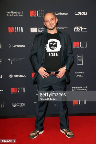 Antonio Wannek during the 30th European Film Awards 2017 at 'Haus der Berliner Festspiele' on December 9 2017 in Berlin Germany