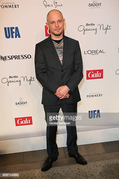 Antonio Wannek during the 'Berlin Opening Night of GALA UFA Fiction' at Das Stue Hotel on February 11 2016 in Berlin Germany