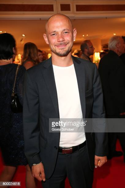 Antonio Wannek during the opening night party of the Munich Film Festival 2017 at Hotel Bayerischer Hof on June 22 2017 in Munich Germany