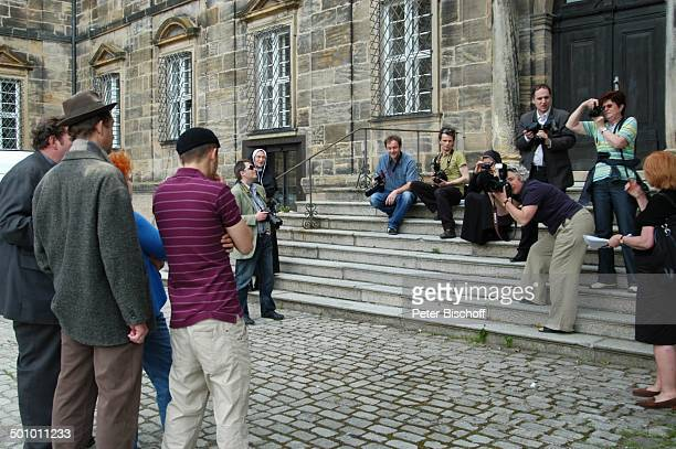 Antonio Wannek Peter Heinrich Brix Ottfried Fischer Hansi Jochmann Fotografen ARDSerie 'Pfarrer Braun' Folge 'Braun unter Verdacht'...