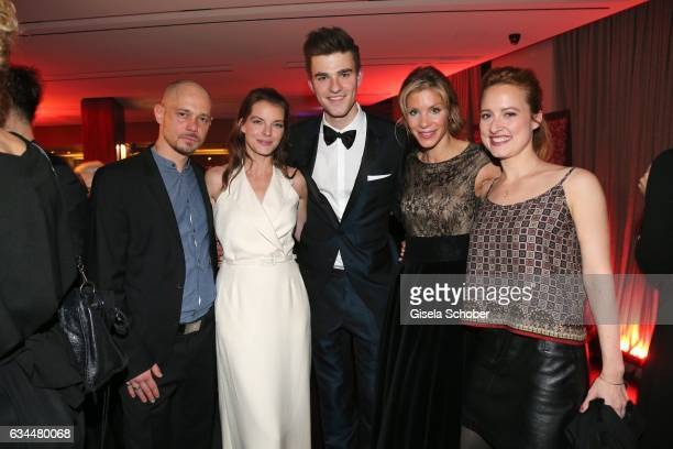 Antonio Wannek Yvonne Catterfeld Patrick Moelleken Nina Gnaedig and Wanda Perdelwitz during the Berlin Opening Night by GALA and UFA Fiction at hotel...