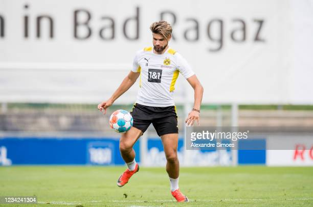 Antonios Papadopoulos of Borussia Dortmund during a training session as part of the training camp on July 27, 2021 in Bad Ragaz, Switzerland.