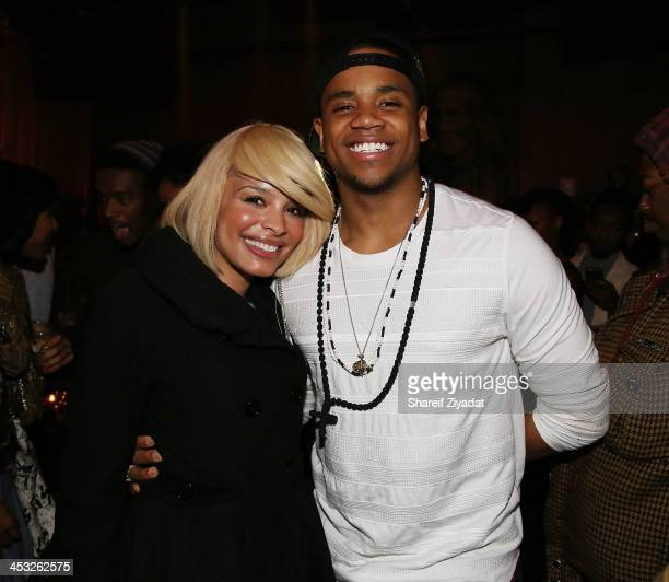 Antonique Smith and Mack Wild attend the Sevyn Streeter Album Release Party at Mister H on December 2 2013 in New York City