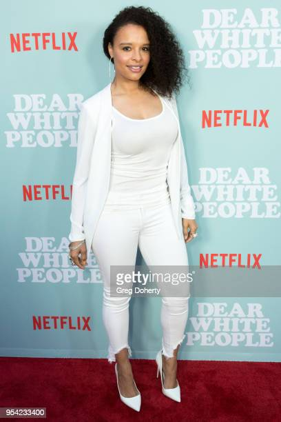 Antonique Smith attends the 'Dear White People' Season 2 Special Screening on May 2 2018 in Hollywood California