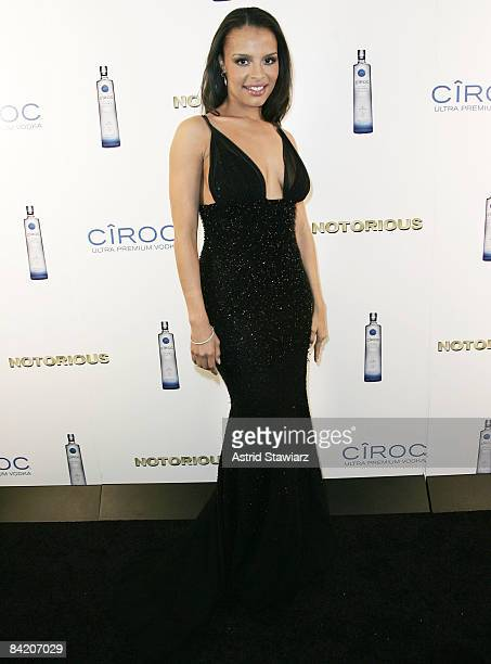 """Antonique Smith attends the """"Notorious"""" Premiere After Party Presented By Ciroc at Roseland Ballroom on January 7, 2009 in New York City."""