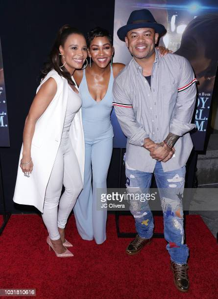 Antonique Smith Meagan Good and Anthony Hemingway attend the premiere of Samuel Goldwyn Films' 'A Boy A Girl A Dream' at ArcLight Hollywood on...