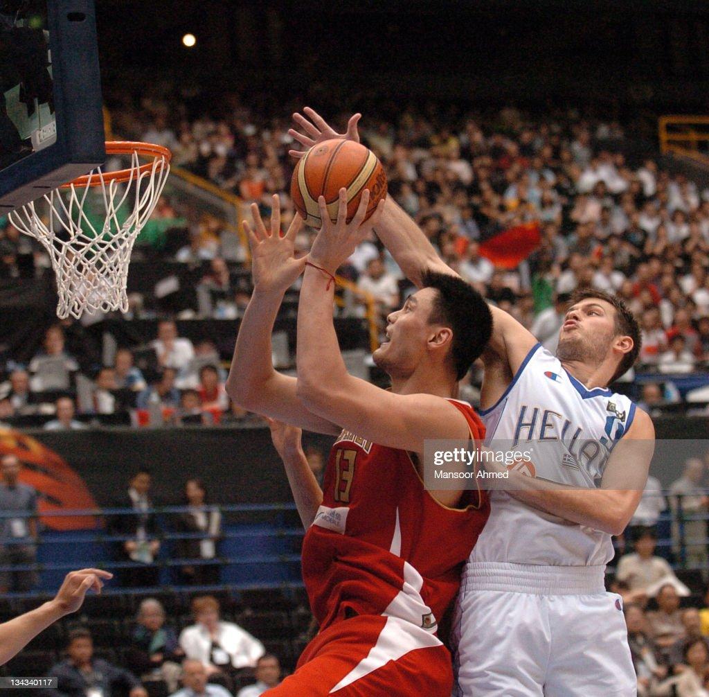 2006 FIBA World Championships - Final Eight - China vs Greece - August 27, 2006
