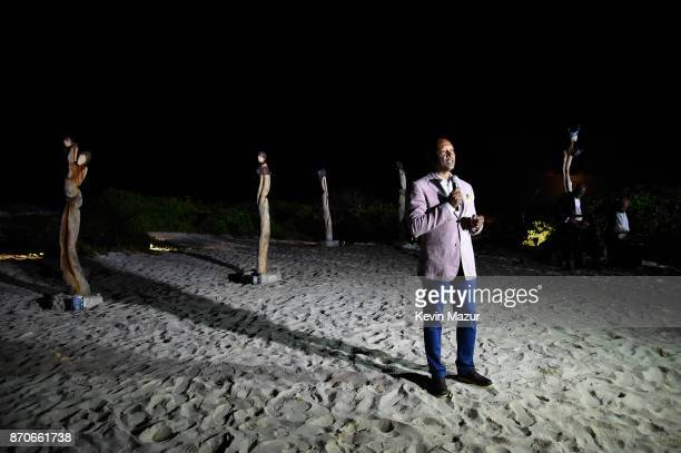 Antonius Roberts attends the weekend opening of The NEW ultraluxury Cove Resort at Atlantis Paradise Island on November 4 2017 in The Bahamas