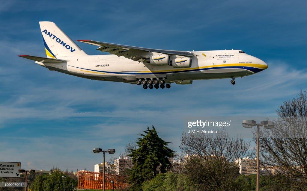 UR-82073 Antonov Airlines - Antonov An-124 : Stock Photo