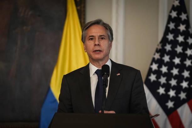 COL: U.S. Secretary Of State Blinken Meets With President Ivan Duque