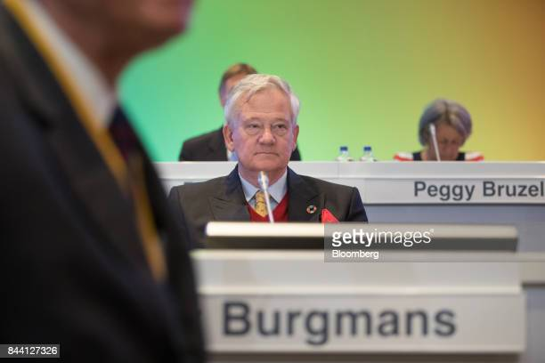 Antony Burgmans chairman of Akzo Nobel NV looks on during a shareholder meeting in Amsterdam Netherlands on Friday Sept 8 2017 Akzo Nobel cut its...