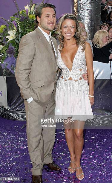 Antony Costa and Adele Silva during 2005 British Soap Awards Arrivals at BBC Television Centre in London Great Britain