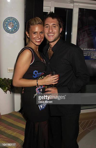 Antony Costa And Fiance The Box Office Film Party For The Action Movie Ôstreet Runner' Was Held On Pascal Mouawad's Yacht Cannes Film Festival Cannes...