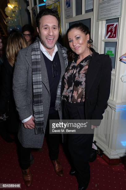 Antony Costa and Jessie Wallace attend the 2nd birthday gala performance of Beautiful The Carole King Musical at The Aldwych Theatre on February 9...