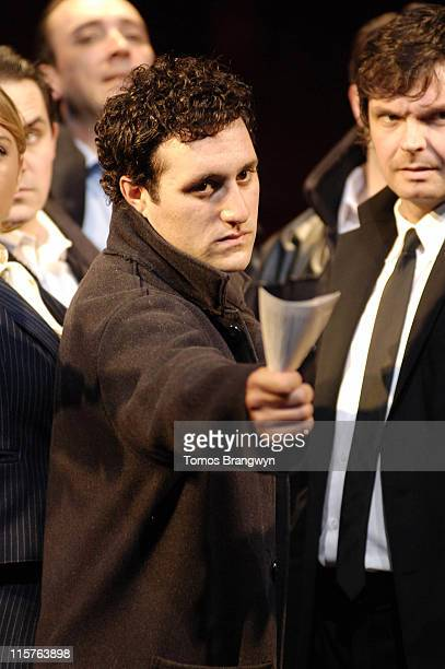 Antony Costa and the cast of 'Blood Brothers' during 'Blood Brothers' London Photocall at Phoenix Theatre in London Great Britain