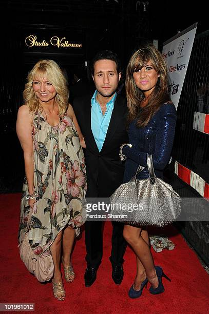 Antony Costa attends the First News 4th birthday party at Studio Valbonne on June 10 2010 in London England