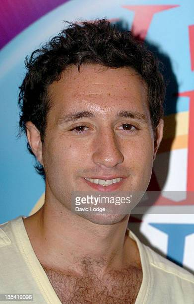 Antony Costa during Kids Week In The West End Press Launch July 25 2006 at Coventry Street in London Great Britain