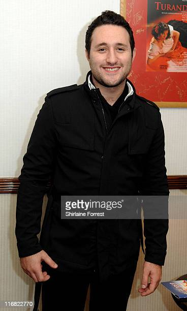 COVERAGE** Antony Costa in the VIP bar at the opening night of Footloose The Musical at Manchester's Opera House on November 17 2008 in Manchester...