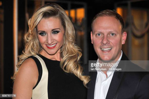 Antony Cotton and Catherine Tyldesley arrive for the Radio Times Covers Party at Claridges Hotel London