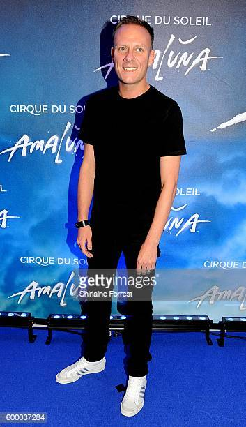 Antony Cotton arrives at the press night for Cirque Du Soleil's 'Amaluna' at The Big Top Intu Trafford Centre on September 7 2016 in Manchester...