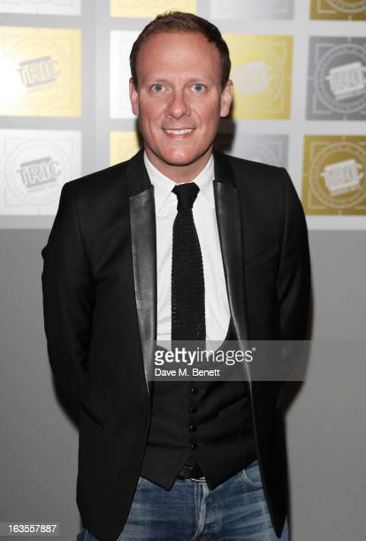 Antony Cotton arrives at the TRIC Television and Radio Industries Club Awards at The Grosvenor House Hotel on March 12 2013 in London England