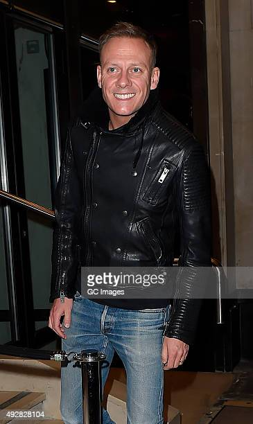 Antony Cotton attends Ant and Dec's joint 40th Birthday party at Kensington Roof Gardens on October 15 2015 in London England