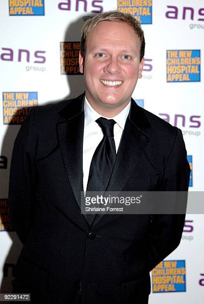 Antony Cotton attends Notte Bella Il Finito fundraising event for The New Children's Hospital Appeal at The Hilton on October 22 2009 in Manchester...