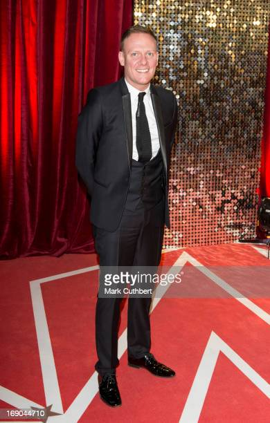 Antony Cotton attends the British Soap Awards at Media City on May 18 2013 in Manchester England