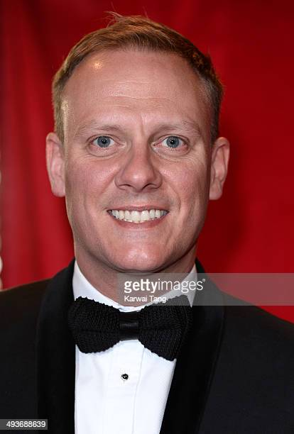 Antony Cotton attends the British Soap Awards held at the Hackney Empire on May 24 2014 in London England