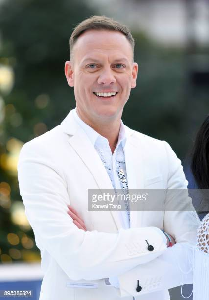 Antony Cotton attends the Dancing On Ice 2018 photocall held at Natural History Museum Ice Rink on December 19 2017 in London England