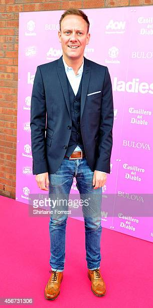 Antony Cotton attends the Manchester United Foundation Ladies Lunch at Old Trafford on October 6 2014 in Manchester England