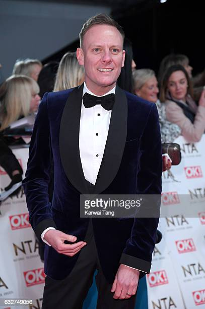 Antony Cotton attends the National Television Awards at The O2 Arena on January 25 2017 in London England