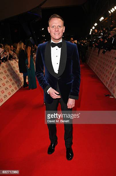 Antony Cotton attends the National Television Awards on January 25 2017 in London United Kingdom