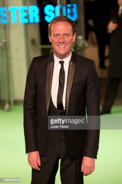 Antony Cotton attends the Royal Film Performance of 'The Hobbit An Unexpected Journey' at Odeon Leicester Square on December 12 2012 in London England