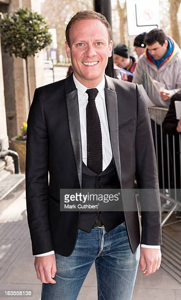 Antony Cotton attends the TRIC awards at The Grosvenor House Hotel on March 12 2013 in London England