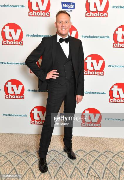 Antony Cotton attends the TV Choice Awards at The Dorchester on September 10 2018 in London England