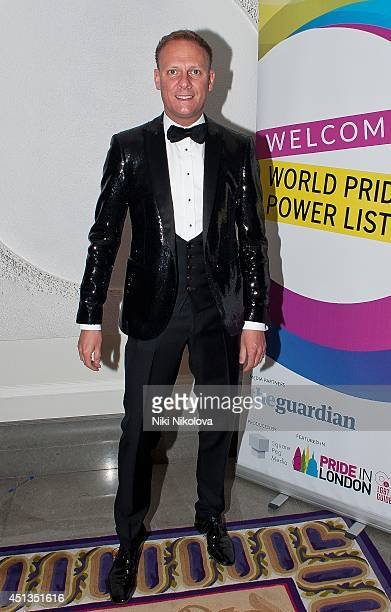 Antony Cotton attends the World Pride Power List party held at the Corinthia Hotel at Corinthia Hotel London on June 27 2014 in London England