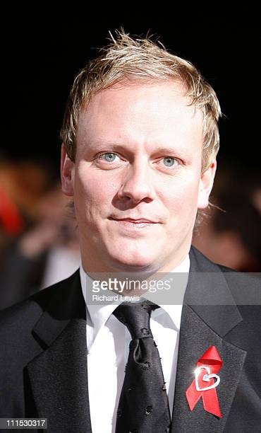 Antony Cotton during 12th Anniversary National Television Awards Arrivals at Royal Albert Hall in London Great Britain