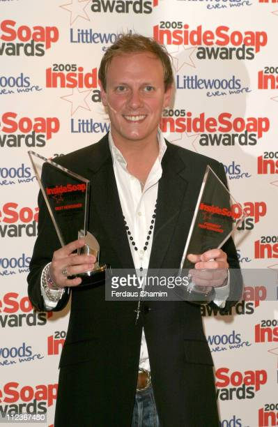 Antony Cotton during 2005 Inside Soap Awards at Floridita in London Great Britain