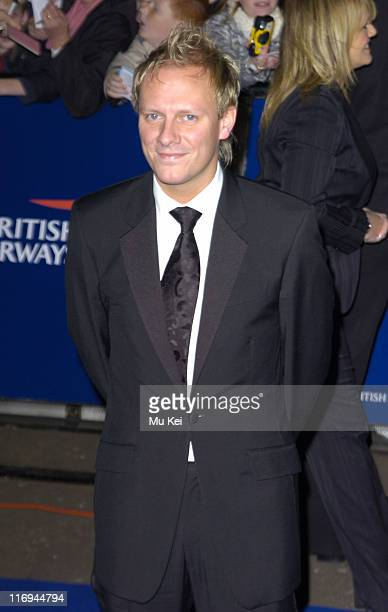 Antony Cotton during National Television Awards 2005 at Royal Albert Hall London in London United Kingdom