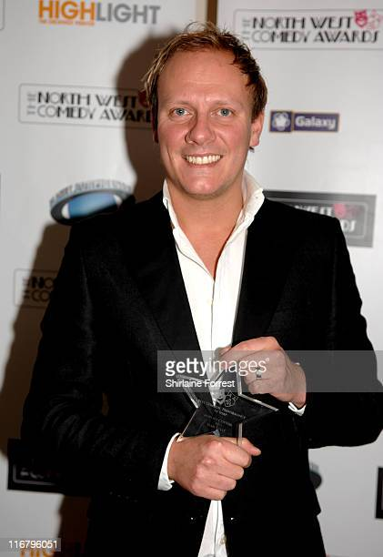 Antony Cotton during North West Comedy Awards 2007 at Midland Hotel in Manchester Great Britain
