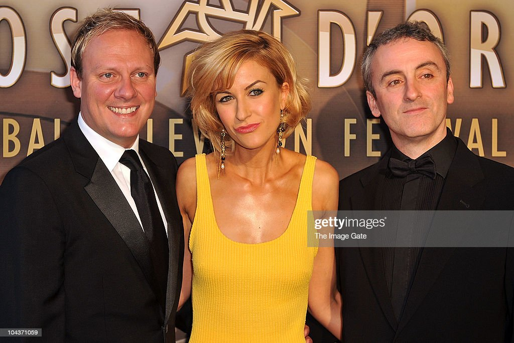 Antony Cotton, Katherine Kelly and Kieran Roberts of Coronation Street arrive at the 50th Rose d'Or Television Festival Award Ceremony on September 22, 2010 in Lucerne, Switzerland.