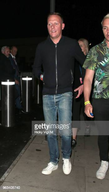 Antony Cotton seen attending Britain's Got Talent semi final at Hammersmith Apollo on May 28 2018 in London England